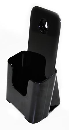 Portafolletos sobremesa 1/3A4 negro